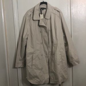 Jackets & Blazers - Khaki Plus Size Trench coat sz. 20